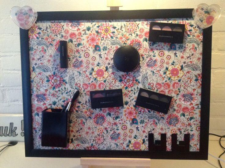 Workshop make-up magneetbord maken.
