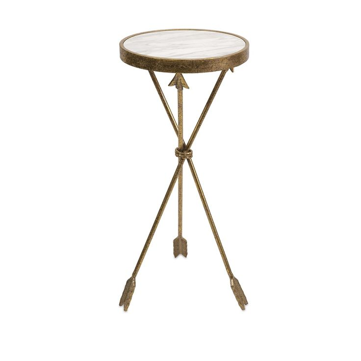 Arrow Marble Top Table