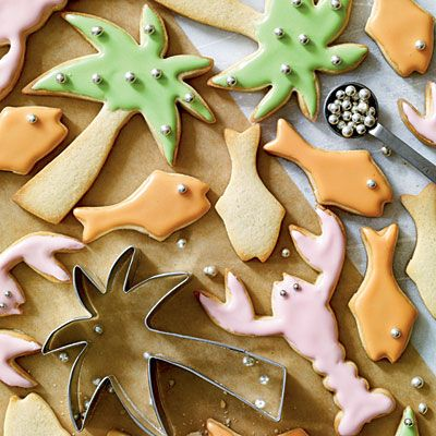 Coastal Holiday Cookies: made them last year, they're awesome!