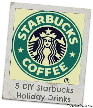 5 DIY Starbucks Holiday Drinks (includes mocha cookie crumble)