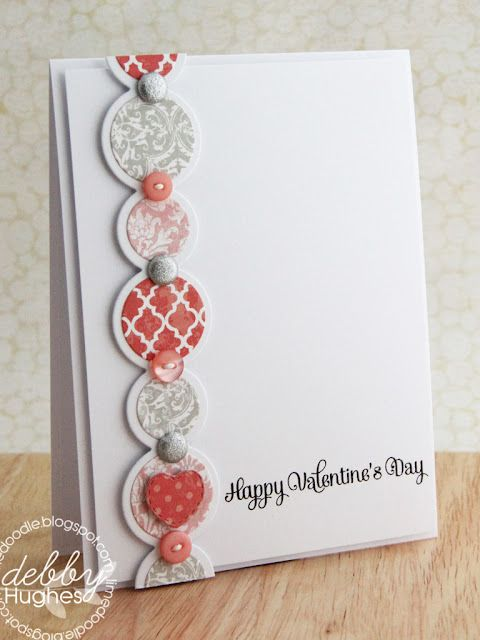 love the circles: Valentine Card, Cards Valentine, Stampin Up, Valentines Day, Cardmaking, Card Ideas, Card Making, Valentine S