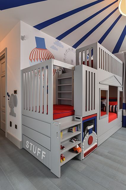 This Circus Themed Kids Bedroom Is Designed For A Lovely 3 Year Old