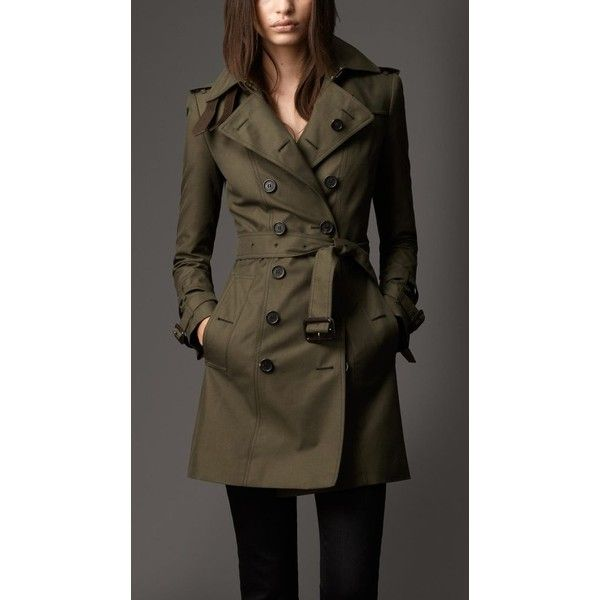Women's Trench Coats via Polyvore featuring outerwear, coats, brown trench coat, trench coats and brown coat