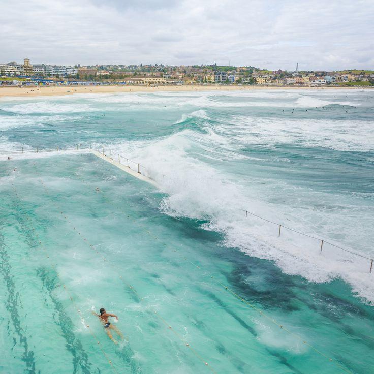 Beautiful Bondi Beach, Sydney, New South Wales, Australia by CubaGallery