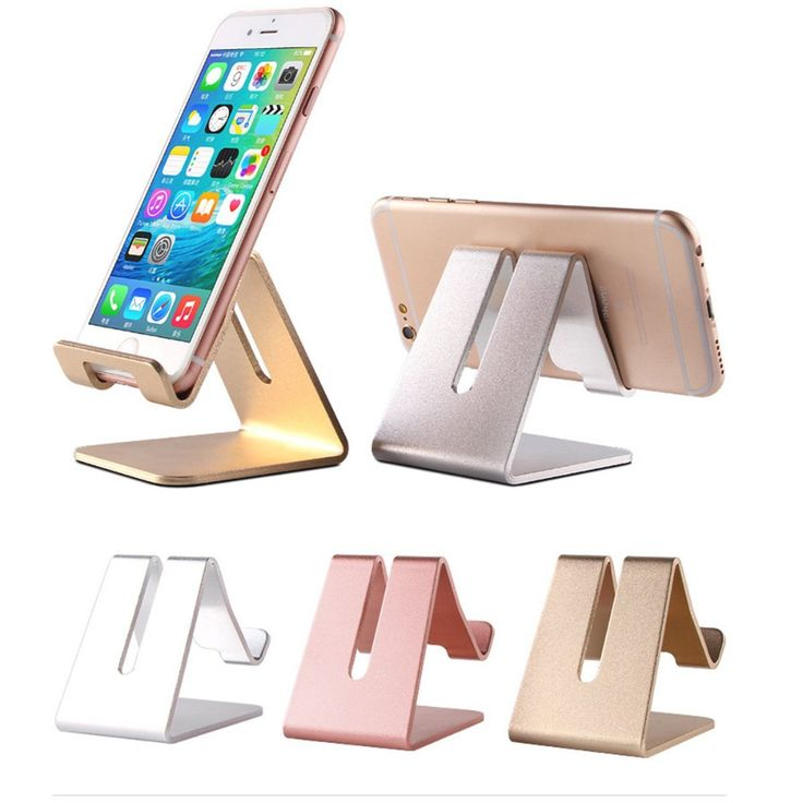 Cell Phone Desk Stand Holder - ToBeoneer Aluminum Desktop Solid Portable Universal Desk Stand for All Mobile Smart Phone Tablet Display Huawei iPhone 7 6 Plus 5 Ipad 2 3 4 Ipad Mini Samsung (Gold) Office Accessories, Mobile Accessories, Cell Phone Accessories, Ipad Mini Accessories, Iphone Holder, Cell Phone Holder, Diy Cell Phone Stand, Phone Stand For Desk, Ipad Holder