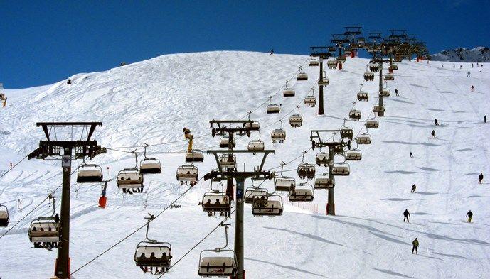 Lift Sölden skiing Snow winter STS Alpresor puder skidresa Alperna
