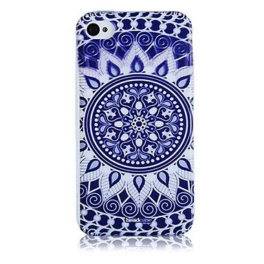 Blue and White Porcelain Pattern Silicone Soft Case for iPhone5/5S     – EUR € 3.67
