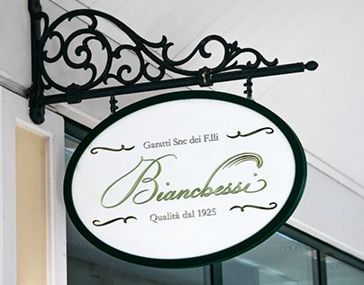 """Check out new work on my @Behance portfolio: """"Logo Bianchessi"""" http://be.net/gallery/36976725/Logo-Bianchessi #logo #shop #store #classic #elegant"""