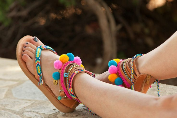 A personal favourite from my Etsy shop https://www.etsy.com/listing/545910557/20-off-venice-hippie-sandals-boho-greek