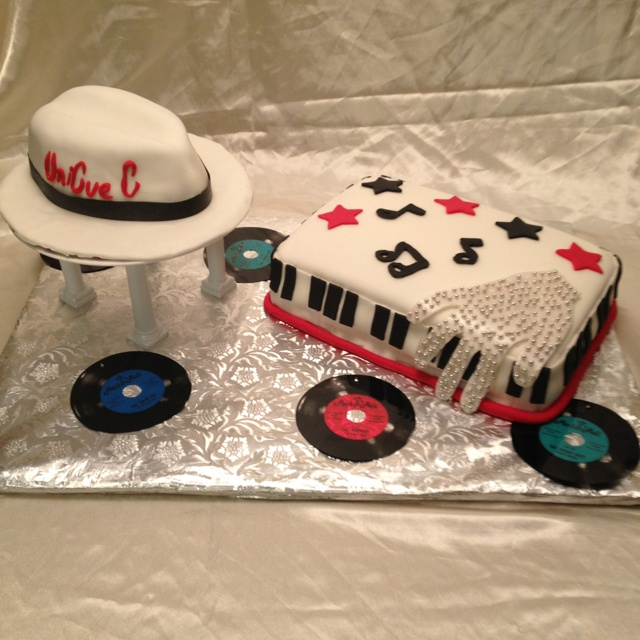 Edible Cake Images Michaels : 10 best images about MJ hat cake on Pinterest