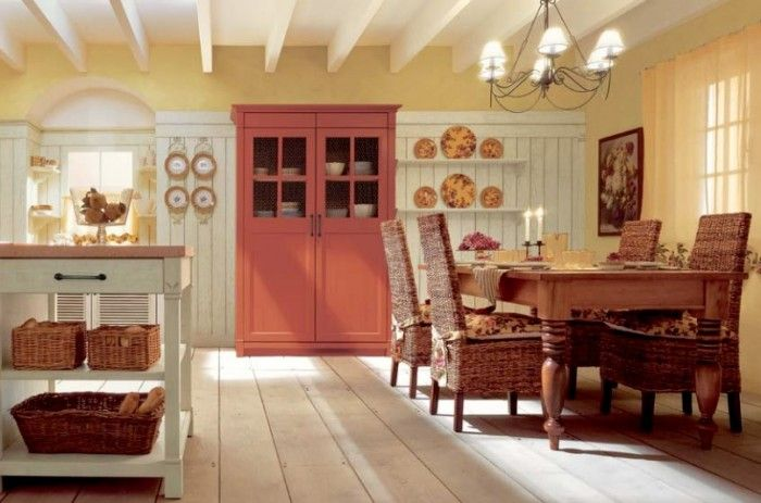 awesome country kitchen photo | Room, Awesome Yellow Country Kitchen: Interesting Country Kitchen ...