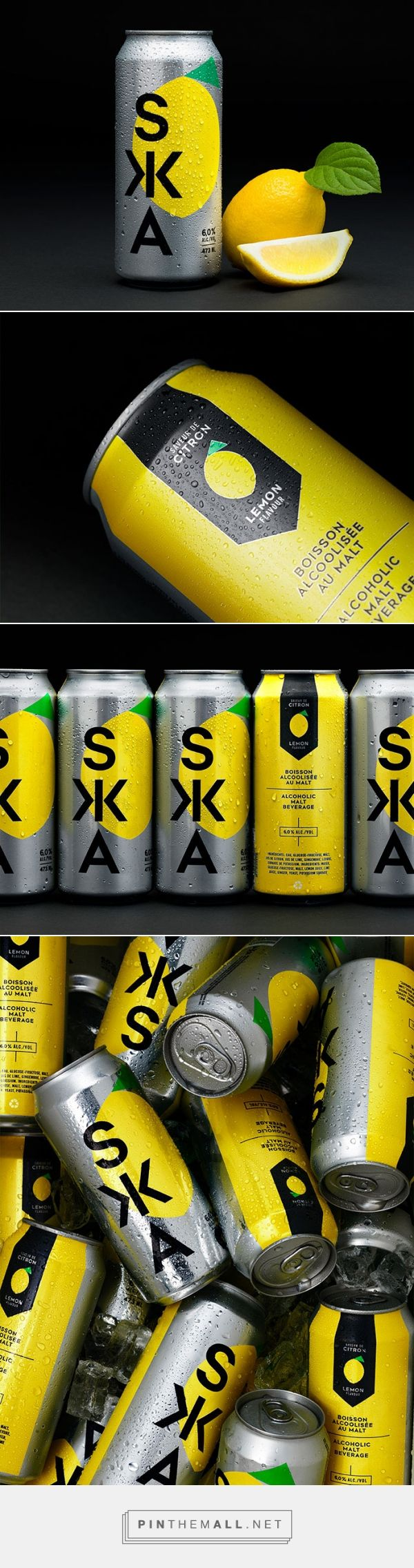 SKA - Farnham Ale & Lager packaging design by lg2boutique - http://www.packagingoftheworld.com/2016/11/ska-farnham-ale-lager.html