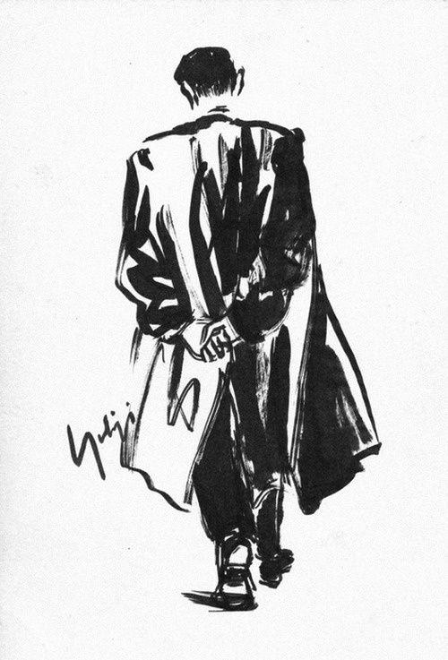 Image result for yohji yamamoto sketches