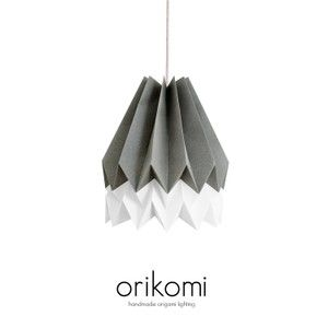 Orikomi, Abajur, Papper, Papel, Arquitect, Light, Lamp, Aroma, Hand made, LED, Colors www.lightestore.tictail.com/products/orikomi