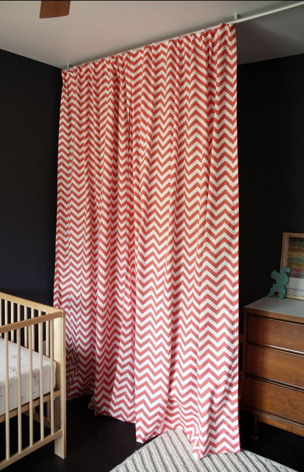 10 best Coral Chevron Curtains are Modern and Trendy images on ...
