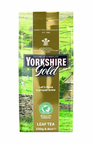 Taylors of Harrogate, Yorkshire Gold Tea, Loose Leaf, 8.8 Ounce Package - http://mygourmetgifts.com/taylors-of-harrogate-yorkshire-gold-tea-loose-leaf-8-8-ounce-package/