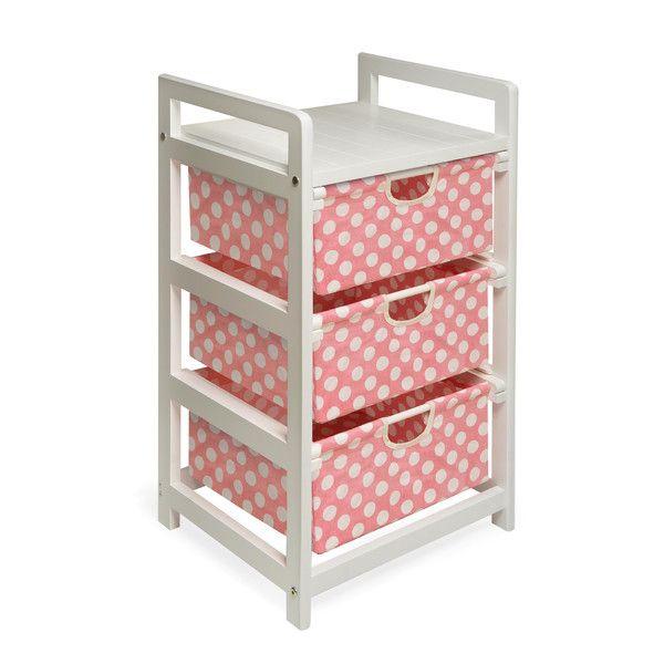 Badger Basket 3 Drawer Hamper/Storage Unit & Reviews | Wayfair