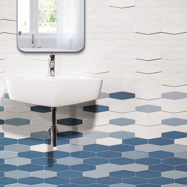 Our Tandem 50 x 200mm tiles are available in various colours textures and thicknesses ! @academytiles #newproducts #interiordesign #uniquetiles #geometric #decorative #featuretiles #creativetiles #madeinspain #tilelove #welovetiles #tileaddiction by academytiles