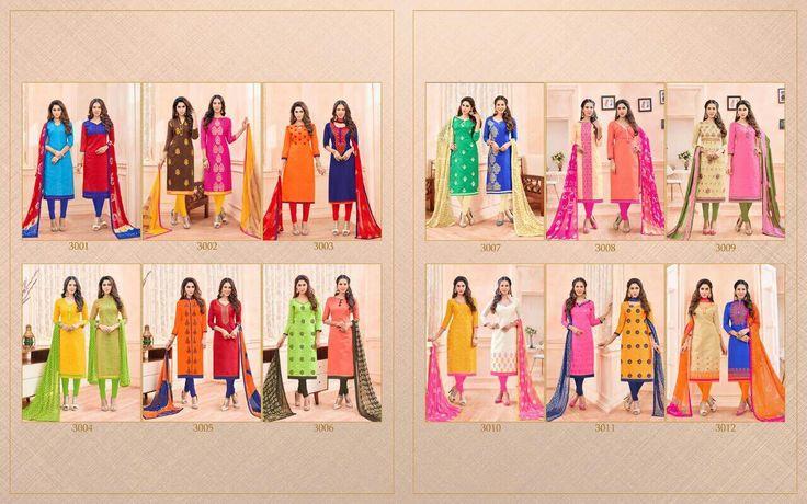 Buy Wholesale AVC Chini Mini Vol-3 Dress Material Catalog Online at Best price in India
