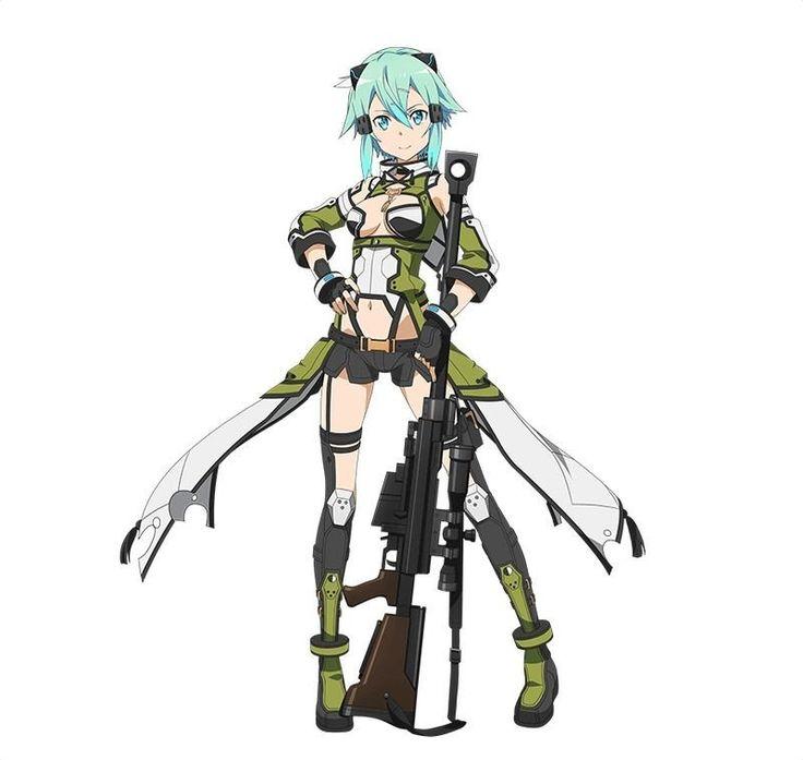 【希望繋ぎし者】シノン(★7/火/銃) -SAO コード・レジスタ攻略Wiki【ソードアート・オンライン】 - Gamerch