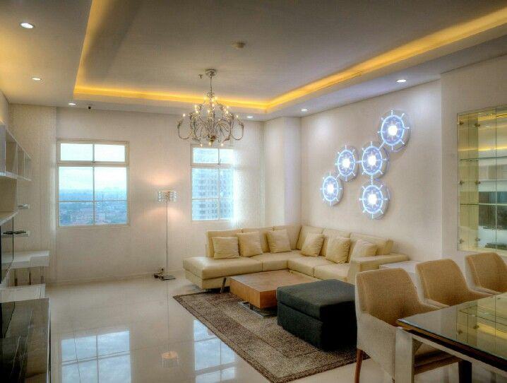 Living and Dining project Belleza Apartment, Permata Hijau Jakarta