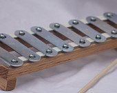 Xylophone de cadre bois chêne naturel jouets