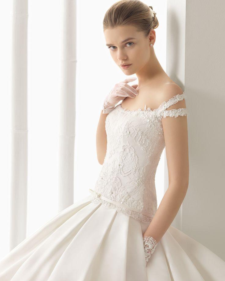 DIANA vestido de novia Rosa Clará 2016