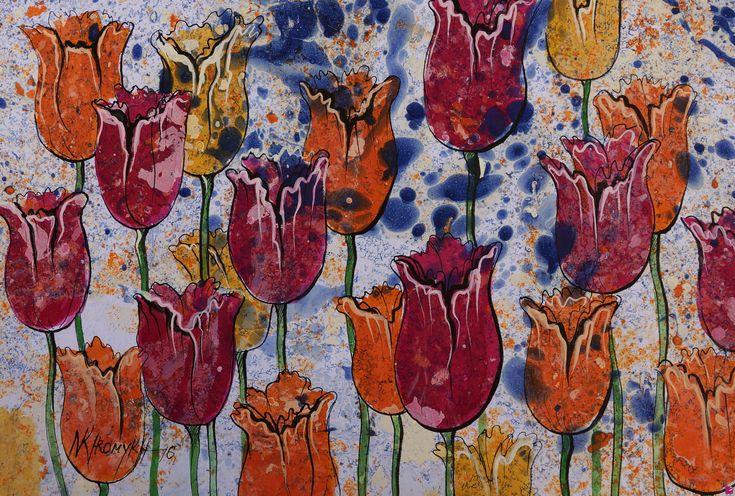 tulipani colorati di Natalia Khromykh