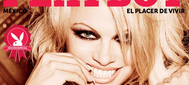 Revelan últimas fotos de Pamela Anderson en 'Playboy'