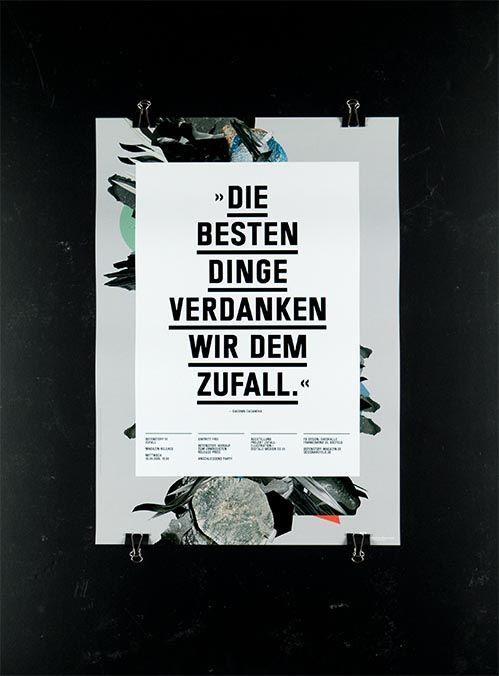 Die Besten Dinge Poster by— Dirk König