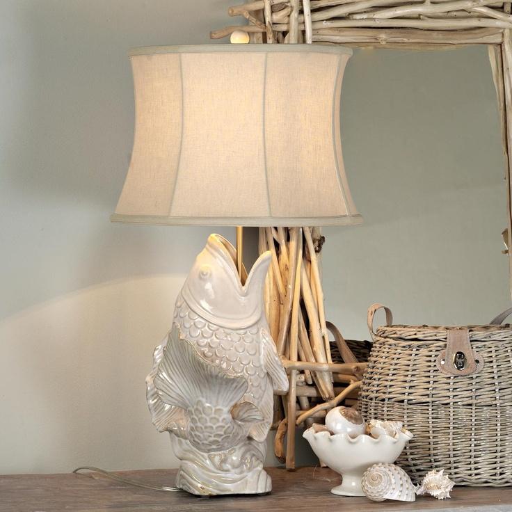 Ceramic Koi Fish Table Lamp: Table Lamps, Koi Fish, Fish Pics, Something S Fishy, Ceramic Koi, Cutie Fish