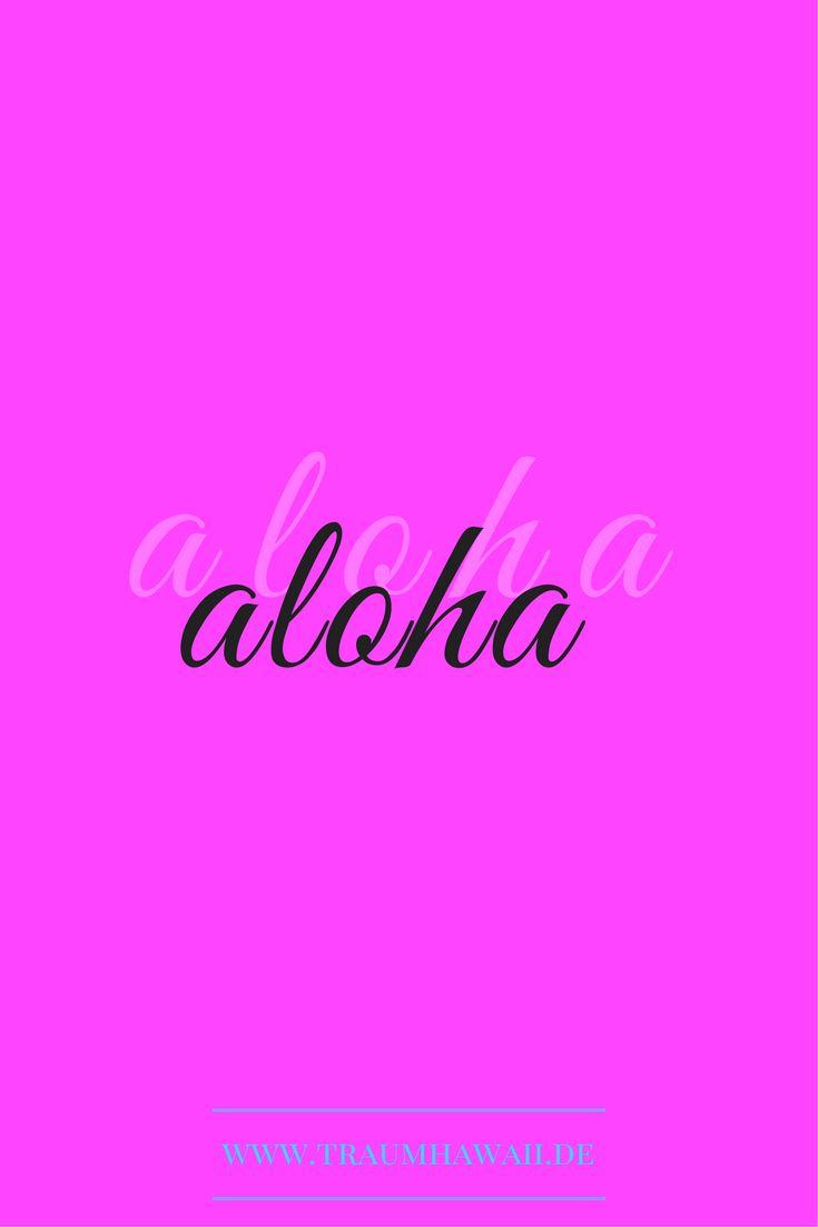 """Du hattest mich schon bei """"Aloha"""". Geht Dir das auch immer so? Ich freue mich auf Dein Aloha auf meinem Blog. www.traumhawaii.de"""