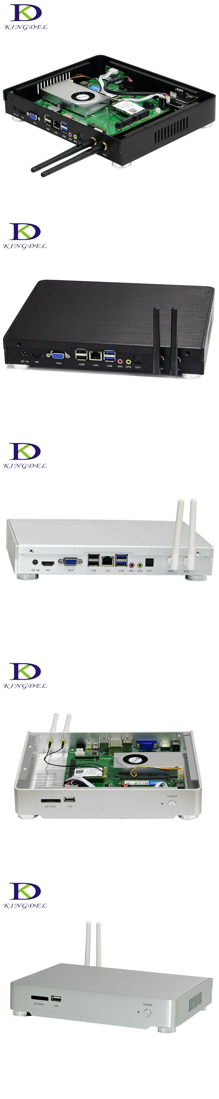 Delicate Tiny computer TV box Win10 Mini PC  i5 4260U Dual Core, LAN  1.4GHz  wifi ,HDMI ,VGA, SD Card ,USB Blanck/silver NC600