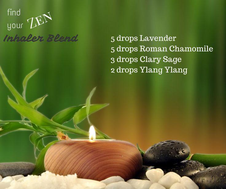 Find Your Zen Inhaler Blend - WendyPolisi.com