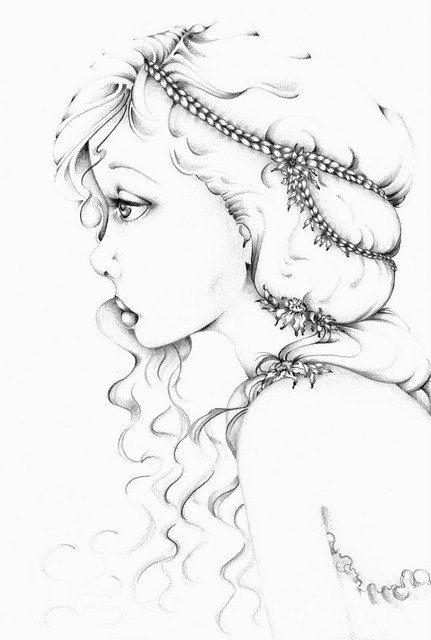 Giclee Print of my Original Pencil Drawing Minimalist Fine Art Black & White Fine Art Pencil Drawing ohhteam
