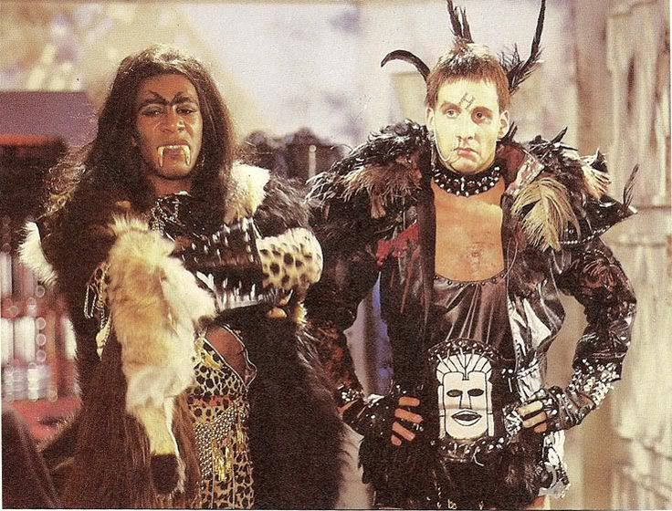 Cat and Rimmer! RED DWARF: Demons & Angels