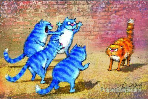 Картинки по запросу синие коты рины зенюк