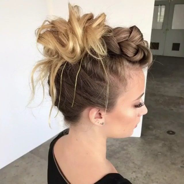I M Full On Mode Rn But We All Know It S Still Hot Af Outside There S Still Time To Rock Thi Hair Styles Braided Hairstyles Tutorials Medium Hair Styles