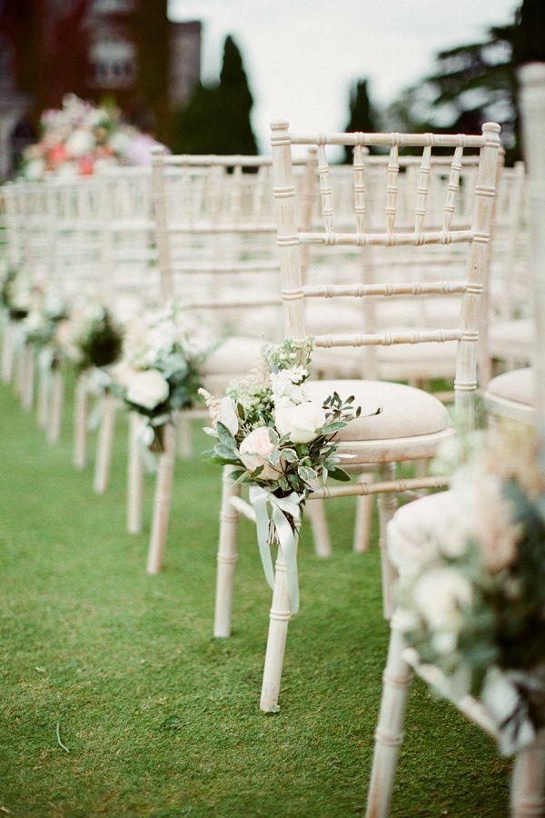 Irish destination wedding ceremony decor: http://www.stylemepretty.com/destination-weddings/2015/11/27/black-tie-destination-wedding-at-irelands-adare-manor/ | Photography: Brosnan - http://www.brosnanphotographic.com/