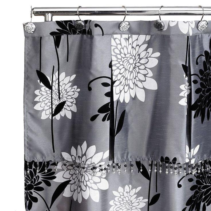 Erica Fabric Shower Curtain Multicolor Fabric Shower Curtains Shower Curtain Curtains