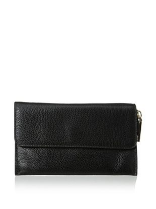 65% OFF Zenith Women's Flap Wallet, Black