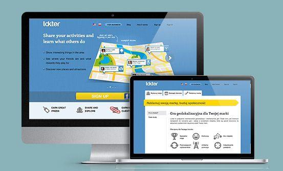 www.lokter.pl - aplikacja do tworzenia gier i zabaw w przestrzeni miejskiej // app for creating games and other activities in the urban space