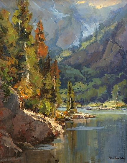 Mountain Haze by Bill Davidson - Greenhouse Fine Art
