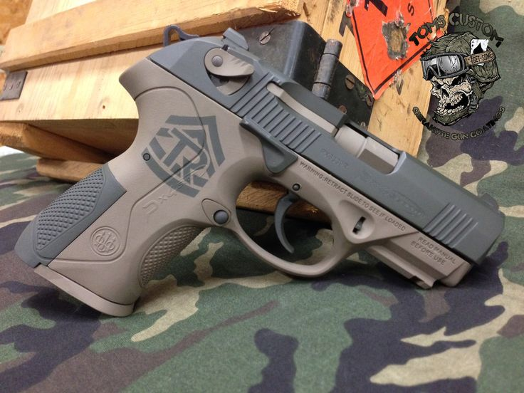 Tylers Army Beretta PX4 Storm In 2 Colors | Toms Custom Guns... I normally prefer Berettas in basic black, but this is pretty awesome.