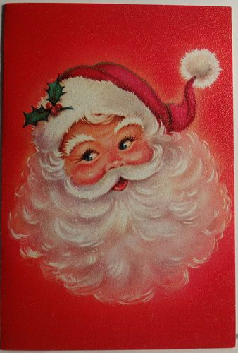santa big fluffy beard