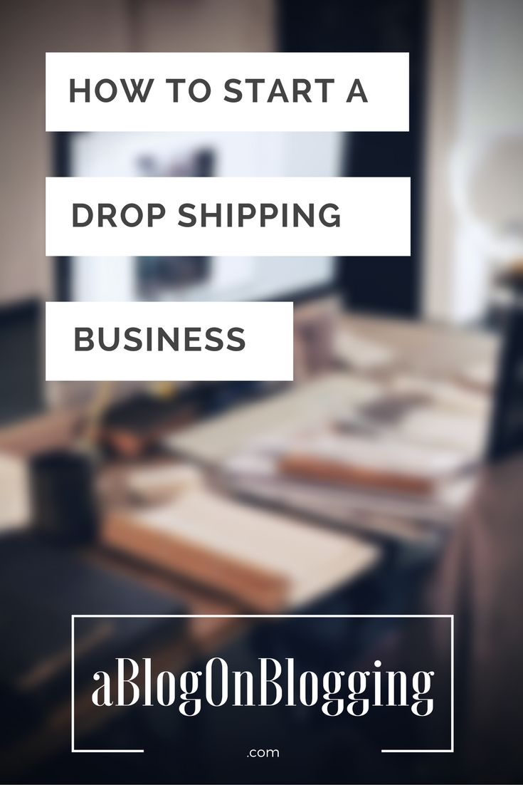 How To Start A Drop Shipping Business: A Detailed Beginner's Guide   A Blog On Blogging