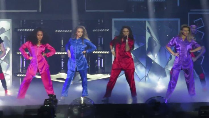 Little Mix - Intro & Grown - Get Weird Tour - at the BIC, Bournemouth on...