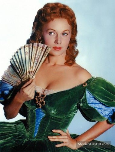 Gunfight at the O.K. Corral promo shot of Rhonda Fleming