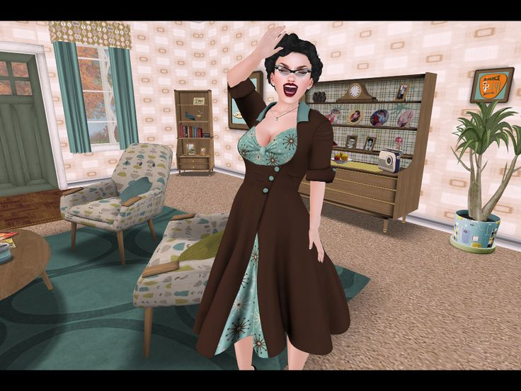 Gertie vintage dress coat @ KnocKeRs