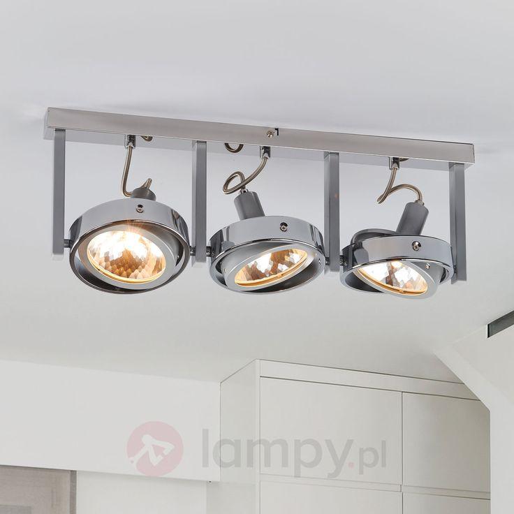 KURIANA - trzypunktowa lampa sufitowa bezpieczne & wygodne zakupy w sklepie internetowym Lampy.pl.